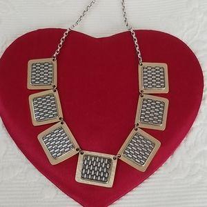Brighton Basket Weave Design Necklace